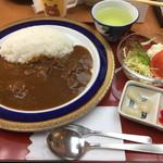 レストラン かわせみ - 料理写真:猪カレー