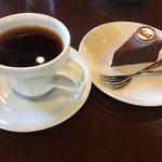 松本珈琲工房 - 料理写真:ガテマラ、ガトーショコラ
