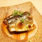鮨 縁 - 新秋刀魚の炊きもの