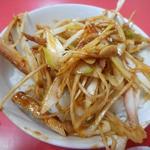 玉泉亭 - ネギ丼(ザーサイ付き)