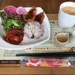 SEKAI CAFE Oshiage - ベジセットにコーヒーを+