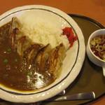 三宝亭 - 料理写真:餃子カレー