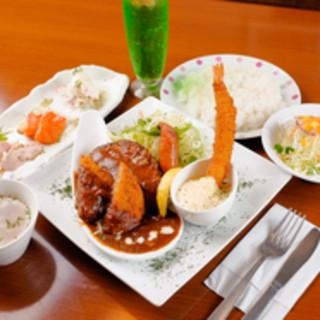 前菜/スープ/サラダ/ライス/ソフトドリンク付『洋食セット』