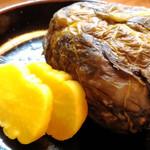 とっぺんさき - 高菜おにぎり。1個160円。