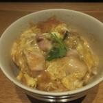 地鶏の鶏膳 - 親子丼