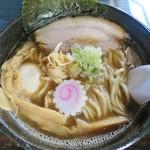 60787457 - 「U・RA煮干し(醤油)(味玉)」(780円)です