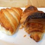 60788167 - ショーソン・オ・ポム、発酵バターのクロワッサン