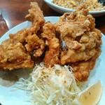 四川料理 長楽 - 若鶏の唐揚げ