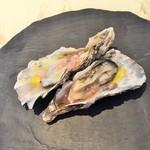 60792276 - アミューズ(牡蠣)