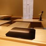 鮨 しお津 - ☆カウンター席はカッコいい雰囲気です(^o^)丿☆