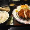 とんかつ芳松 - 料理写真:ロース定食