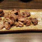 炭火焼鶏Ryo - 鶏ももあぶり焼き