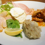 アダット マルヤマ - 前菜盛り