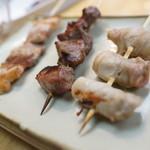 串鳥 - 新生姜豚巻き