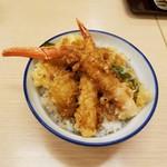さん天 - 料理写真:「ずわいがに 冬の海鮮天丼」690円税込