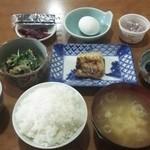 ワイス温泉 - ある日の朝食4