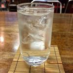 中島屋食堂 - 芋焼酎蔵の師魂水割り
