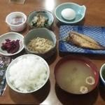 ワイス温泉 - ある日の朝食1