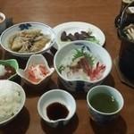 ワイス温泉 - ある日の夕食4