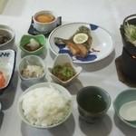 ワイス温泉 - ある日の夕食3