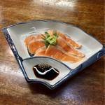 中島屋食堂 - 料理写真:ビワマスお刺身