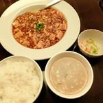 """60803217 - """"麻婆豆腐定食"""""""