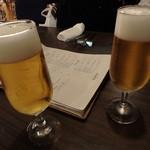 OSTERIA 101 SICILIA GRILL&BAR - ビールで乾杯