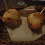 OSTERIA 101 SICILIA GRILL&BAR - お通しはイモかよ・・・(汗)パンでした、とっても美味しくて驚く