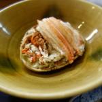 ふじ居 - 香箱蟹の蒸し物