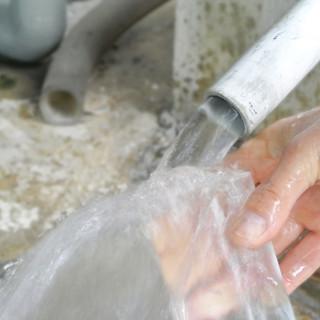 和らぎ水は全て蔵元直送の仕込み水を使用しています(無料です)