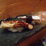 みしま - 単品で穴子とタコを注文しました。