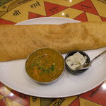 スパイスプラザ - 料理写真:おすすめ!マサラ ドーサ 南インド料理の定番料理です