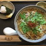 楽水亭 - ジャージャー麺とおにぎりで特別価格500円(税込)
