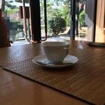 楽水亭 - 食事代+150円でコーヒーが頂ける