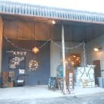 カフェ・クヌート - お店の外観 2016.12