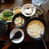 島とうふ屋 - 料理写真:くみ上げ湯葉定食。食べ出があるぞ~