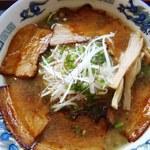 らー麺酒場秀 - 炙りチャーシュー麺1080円