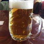 60815321 - 樽生ビール420円です。
