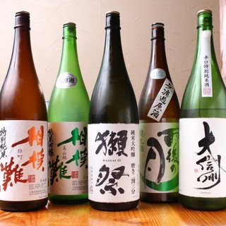 サッポロビール、日本酒各種ご用意してます。