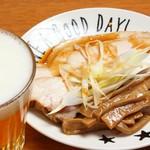 Noodle shop Yan - おつまみチャーシュー&メンマ盛り