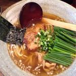 麺や 桜風 - 小ネギラーメン¥850