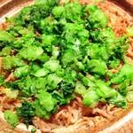 明日香 - じゃこご飯 菜飯