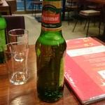タイレストランBOSS - ミャンマービールです