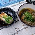 Toufudiyasagadoufusanchuu - にしんそばと湯豆腐