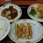 餃子の王将 - 料理写真:2016/12 ジャストサイズセット