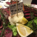 小松屋 - 熟成肉のタリアータ 和牛のサーロイン