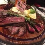 小松屋 - 熟成肉のタリアータ 馬ハラミ