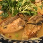 麺や 佐市 - 牡蠣