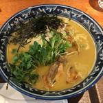 麺や 佐市 - 「牡蠣らぁ麺」900円