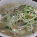 中華料理 万福 - 料理写真:タンメン(700円)